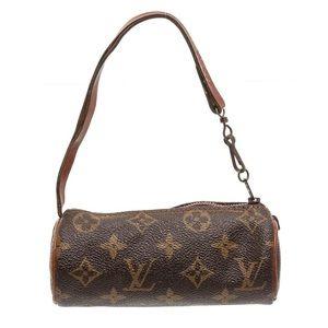 Louis Vuitton Papillon Pochette Mini Bag Monogram